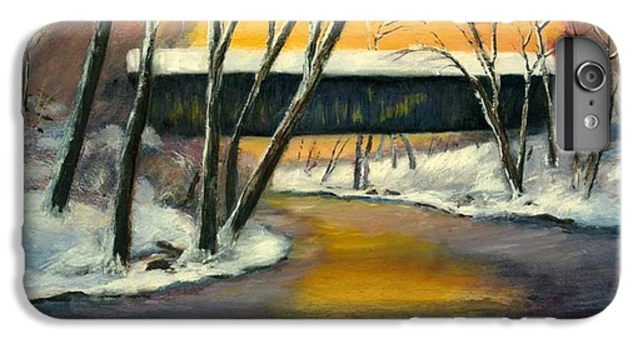 Kentucky IPhone 6 Plus Case featuring the painting Bennett by Gail Kirtz