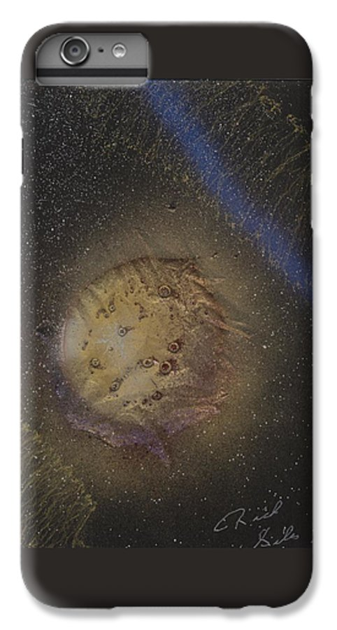 Glass IPhone 6 Plus Case featuring the painting Beyond by Rick Silas