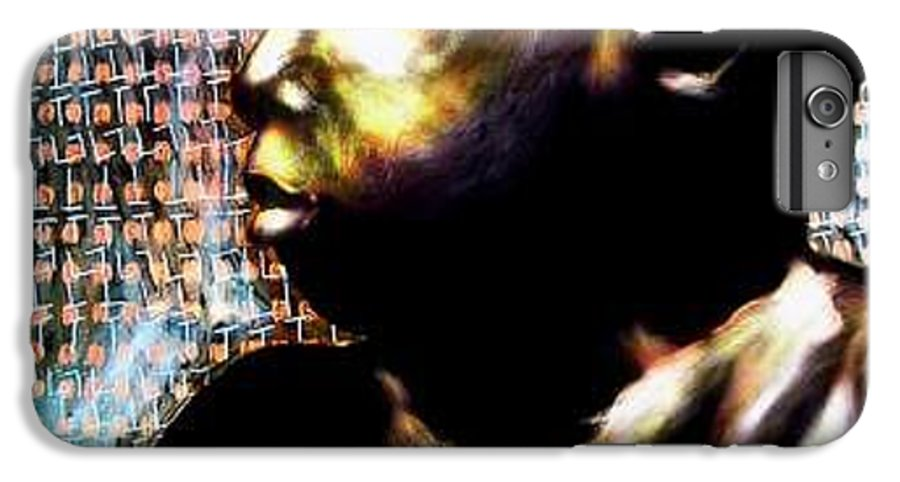 Portrait IPhone 6 Plus Case featuring the mixed media Big Baby Boy by Chester Elmore