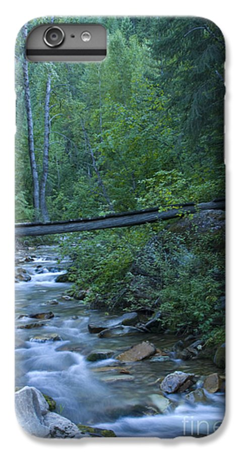 Creek IPhone 6 Plus Case featuring the photograph Big Creek Bridge by Idaho Scenic Images Linda Lantzy
