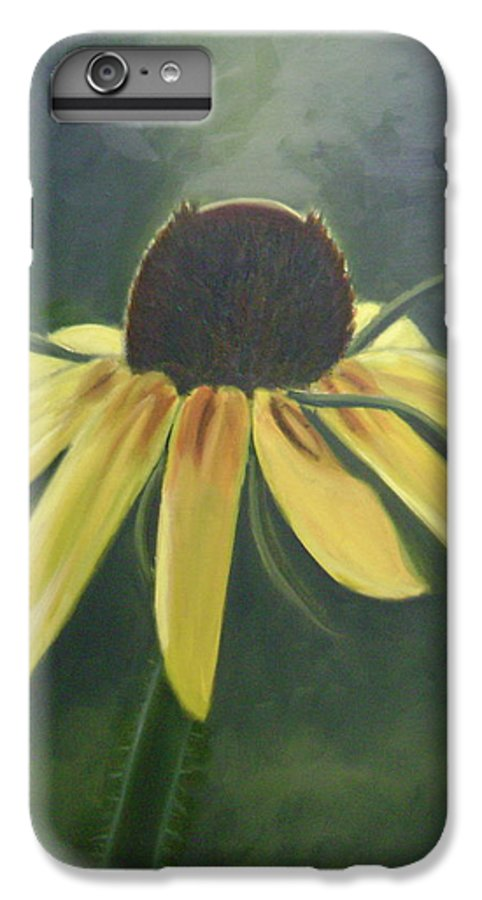 Flower IPhone 6 Plus Case featuring the painting Black Eyed Susan by Toni Berry