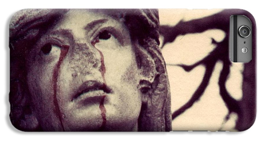 Polaroid IPhone 6 Plus Case featuring the photograph Blood Is The New Black by Jane Linders