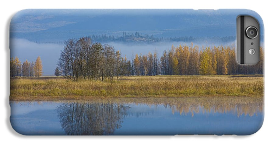 Blue IPhone 6 Plus Case featuring the photograph Blue And Gold by Idaho Scenic Images Linda Lantzy