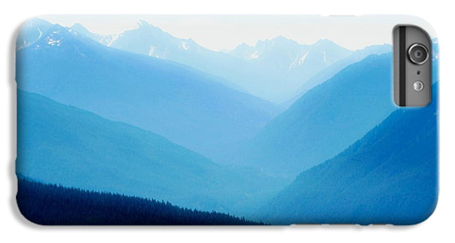 Infinity IPhone 6 Plus Case featuring the photograph Blue Infinity by Idaho Scenic Images Linda Lantzy