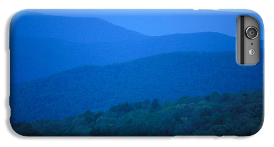 Mountains IPhone 6 Plus Case featuring the photograph Blue Ridge Mountains by Carl Purcell
