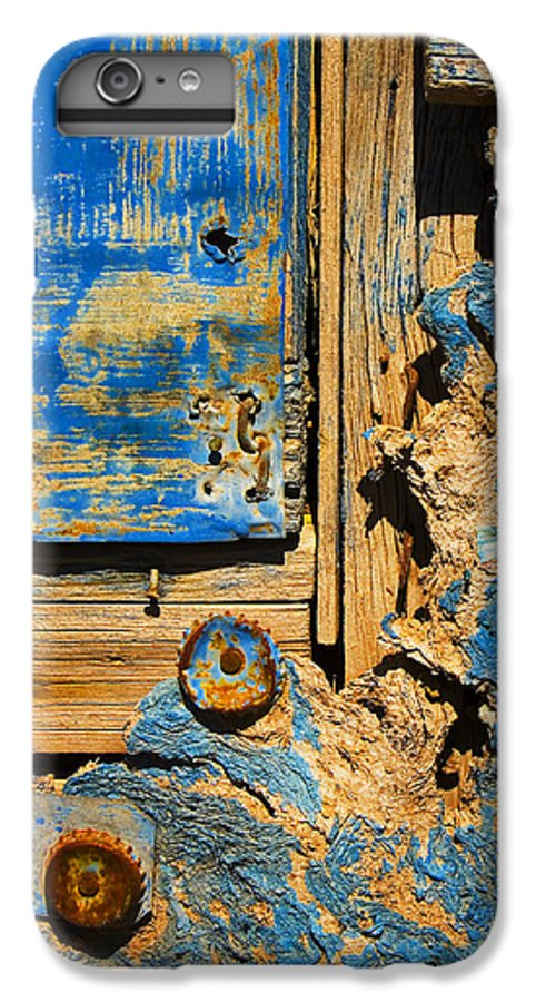 Abstract IPhone 6 Plus Case featuring the photograph Blues Dues by Skip Hunt