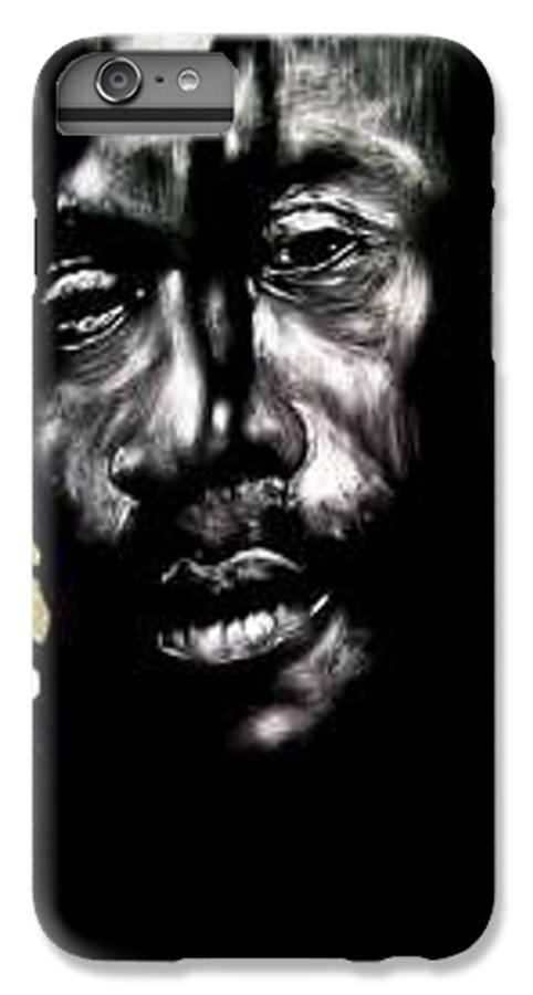 Portrait IPhone 6 Plus Case featuring the mixed media Bob Na I by Chester Elmore