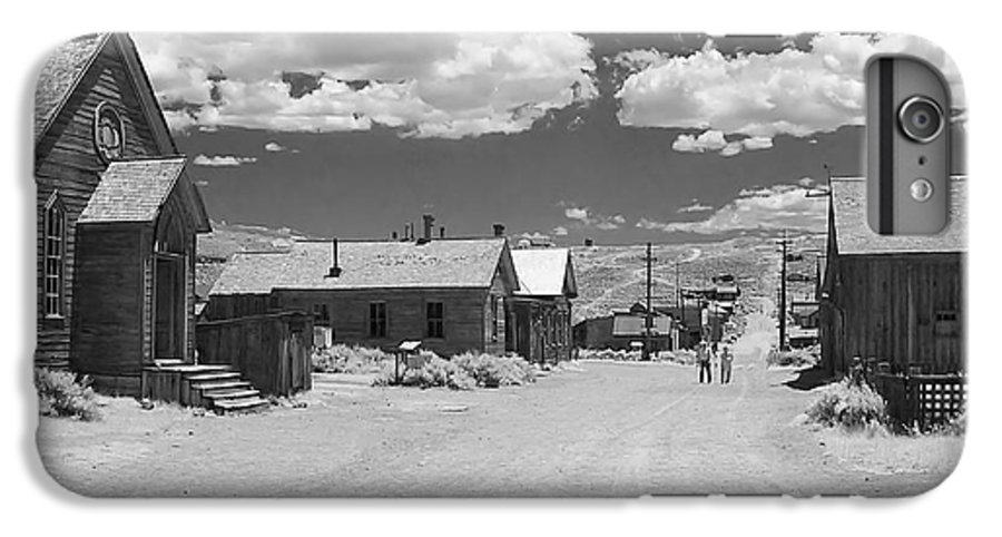 Ghost Town IPhone 6 Plus Case featuring the photograph Bodie A Ghost Town Infrared by Christine Till