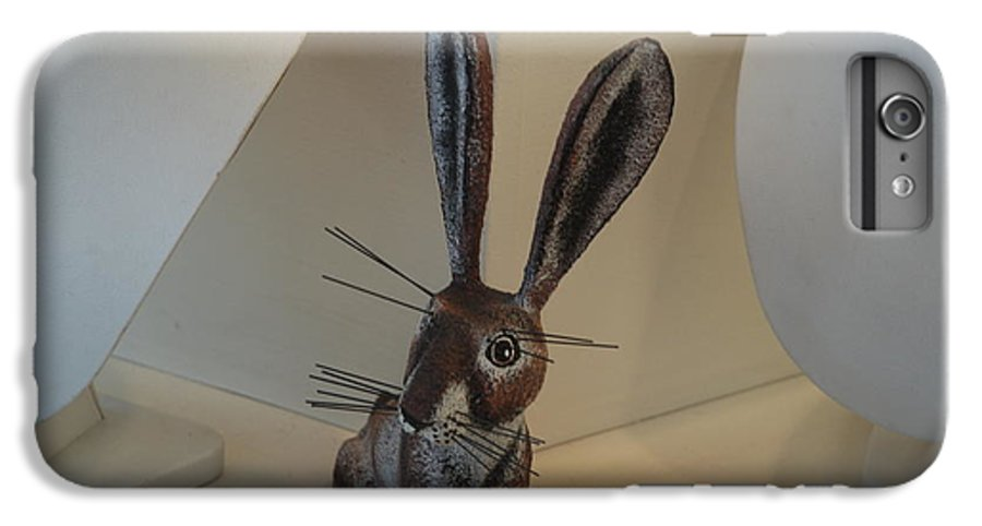 Rabbit IPhone 6 Plus Case featuring the photograph Boink Rabbit by Rob Hans