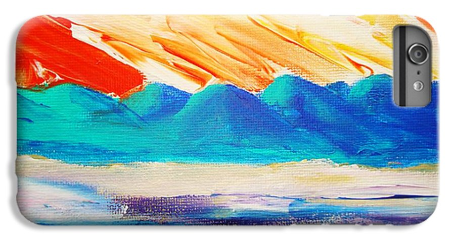 Bright IPhone 6 Plus Case featuring the painting Bold Day by Melinda Etzold