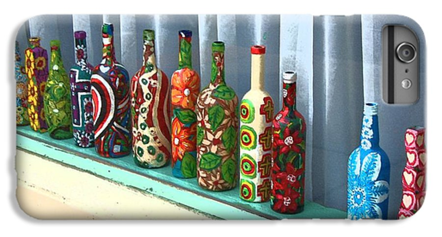 Bottles IPhone 6 Plus Case featuring the photograph Bottled Up by Debbi Granruth