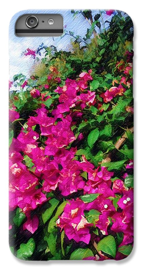 Bougainvillea IPhone 6 Plus Case featuring the photograph Bougainvillea by Sandy MacGowan