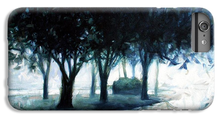 City Scape IPhone 6 Plus Case featuring the painting Boulevard by Kevin Lawrence Leveque
