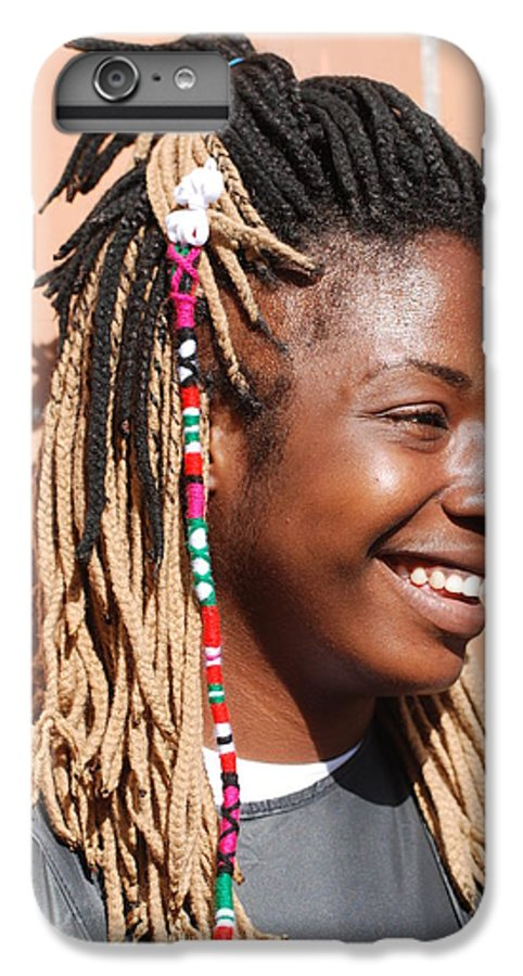 People IPhone 6 Plus Case featuring the photograph Braided Lady by Rob Hans