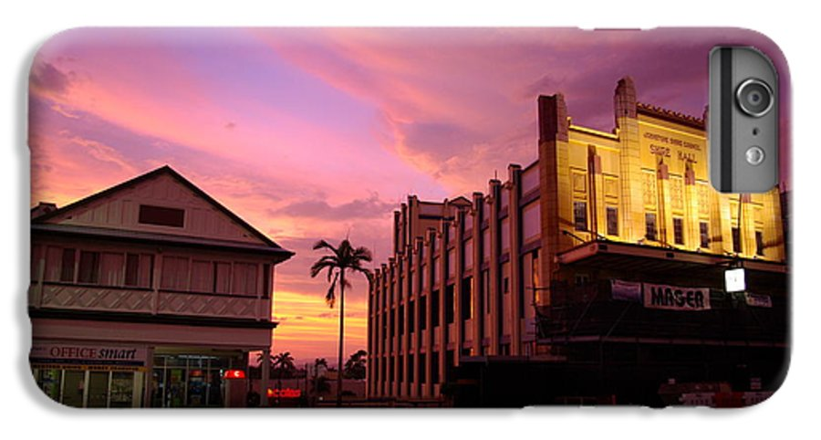 Evening IPhone 6 Plus Case featuring the photograph Brewing Storm by Kerryn Madsen- Pietsch