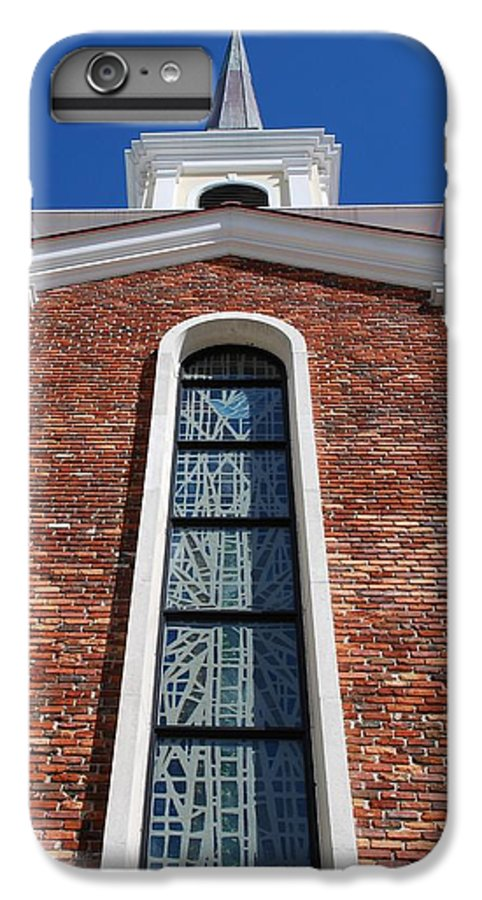 Architecture IPhone 6 Plus Case featuring the photograph Brick Church by Rob Hans