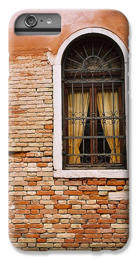 Window IPhone 6 Plus Case featuring the photograph Brick Window by Kathy Schumann