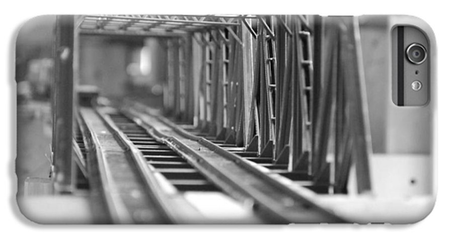 Models IPhone 6 Plus Case featuring the photograph Bridge To Jerry Town by Margaret Fortunato