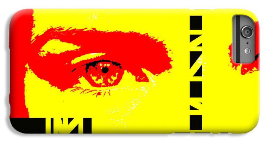 Eyes IPhone 6 Plus Case featuring the photograph Broken by Amanda Barcon