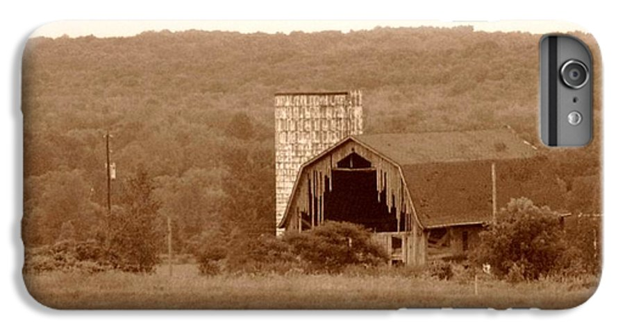 Barn IPhone 6 Plus Case featuring the photograph Broken by Rhonda Barrett