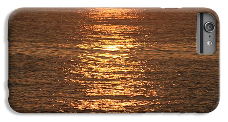Ocean IPhone 6 Plus Case featuring the photograph Bronze Reflections by Nadine Rippelmeyer