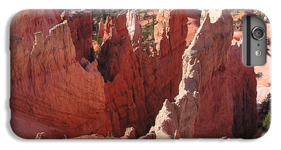 Bryce IPhone 6 Plus Case featuring the photograph Bryce Canyon Look by Louise Magno