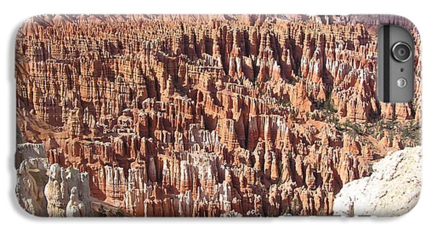 Bryce IPhone 6 Plus Case featuring the photograph Bryce by Louise Magno