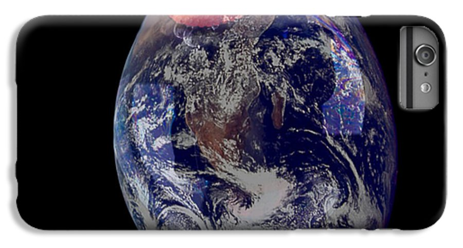 Earth IPhone 6 Plus Case featuring the photograph Bubble Earth by Jim DeLillo