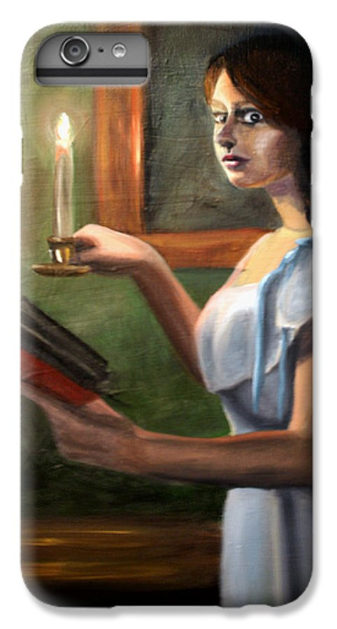 Night IPhone 6 Plus Case featuring the painting Bump In The Night by Maryn Crawford