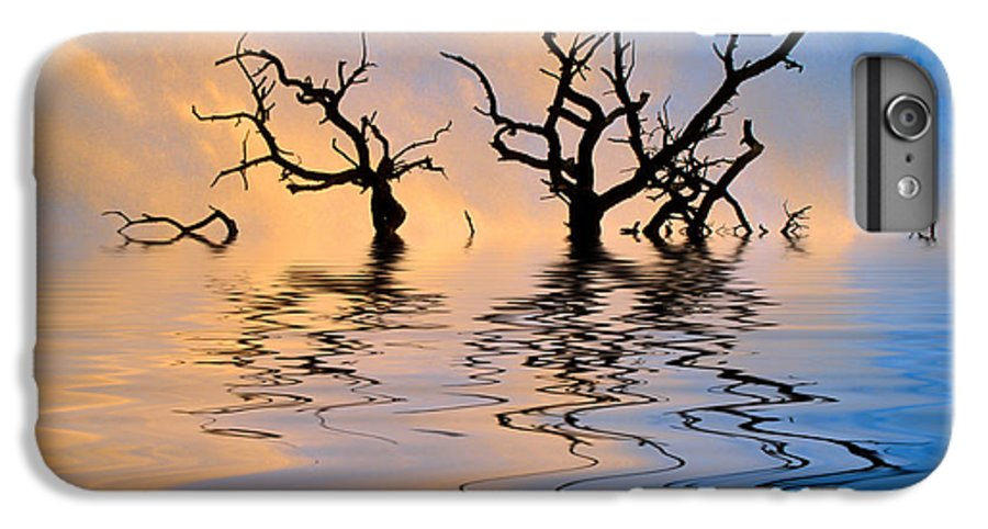 Original Art IPhone 6 Plus Case featuring the photograph Slowly Sinking by Jerry McElroy