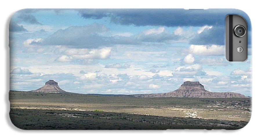 Big Sky IPhone 6 Plus Case featuring the photograph Buttes by Margaret Fortunato