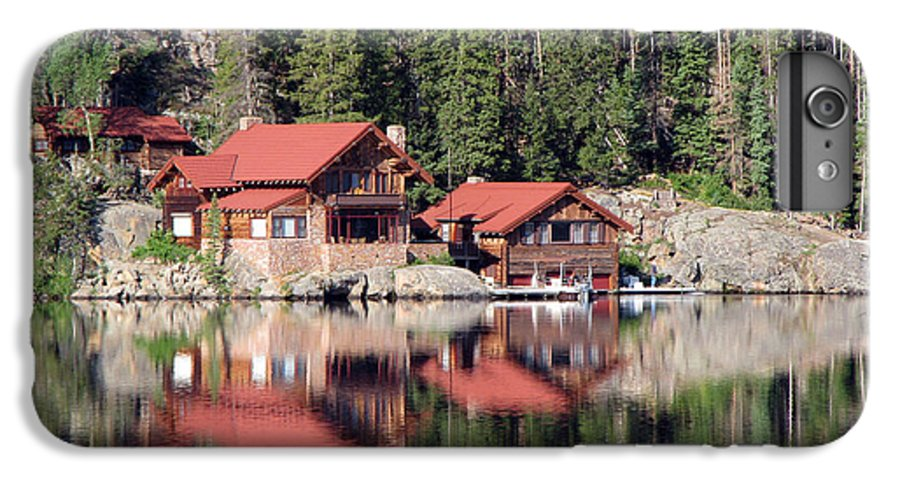 Cabin IPhone 6 Plus Case featuring the photograph Cabin by Amanda Barcon
