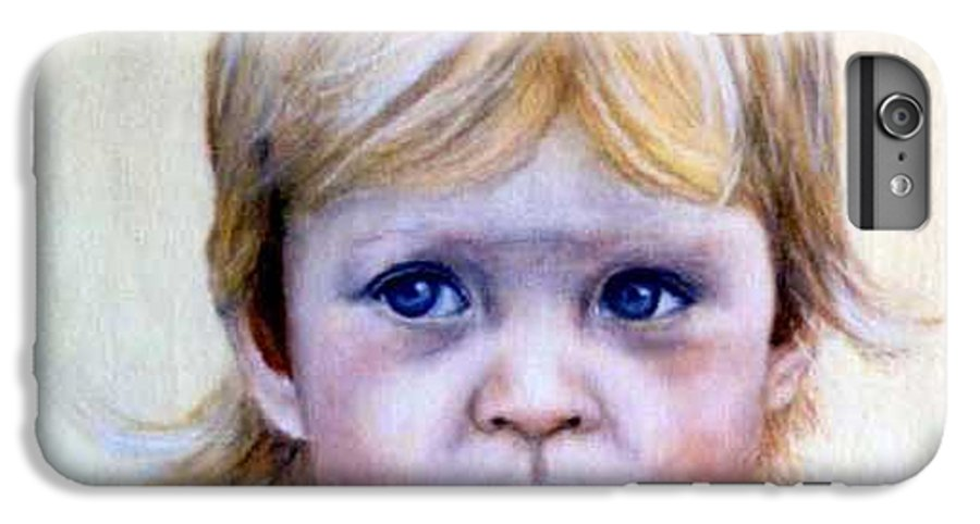IPhone 6 Plus Case featuring the painting Caitlin by Anne Kushnick