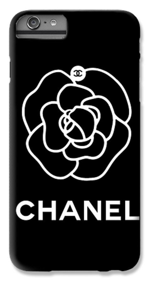 22c057a116d9 Chanel IPhone 6 Plus Case featuring the digital art Camellia Chanel by Tres  Chic