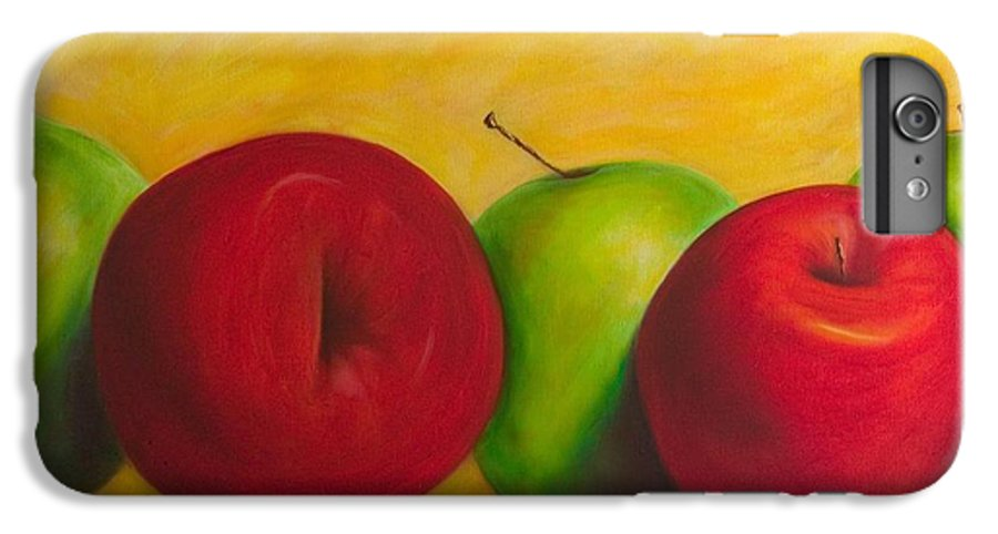 Still Life IPhone 6 Plus Case featuring the painting Cancan by Shannon Grissom