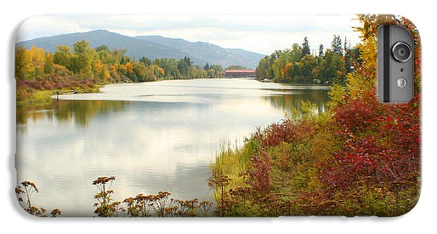 Cedar IPhone 6 Plus Case featuring the photograph Cedar Street Bridge by Idaho Scenic Images Linda Lantzy