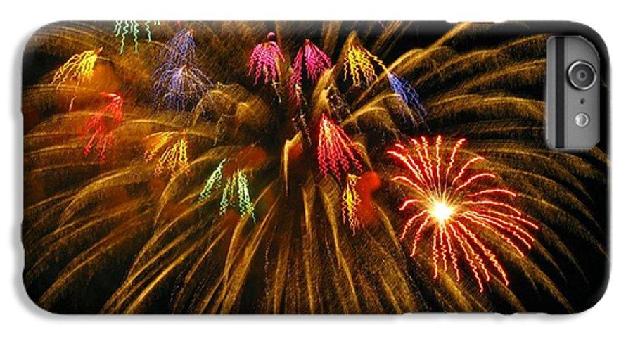 Fireworks IPhone 6 Plus Case featuring the photograph Celebrate by Rhonda Barrett