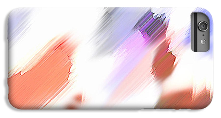Digital Art Water Color Watercolor Light Color IPhone 6 Plus Case featuring the painting Celebration by Anil Nene