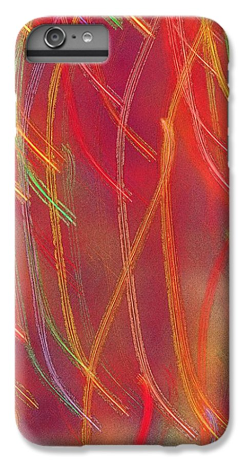 Abstract IPhone 6 Plus Case featuring the photograph Celebration by Gaby Swanson