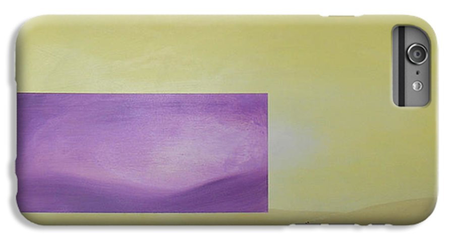 Abstract IPhone 6 Plus Case featuring the painting Change by Bojana Randall