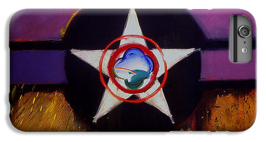 Air Force Insignia IPhone 6 Plus Case featuring the painting Cheyenne Autumn by Charles Stuart