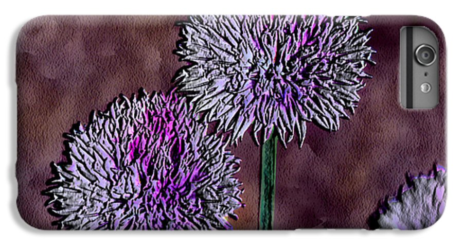 Ebsq IPhone 6 Plus Case featuring the photograph Chives by Dee Flouton