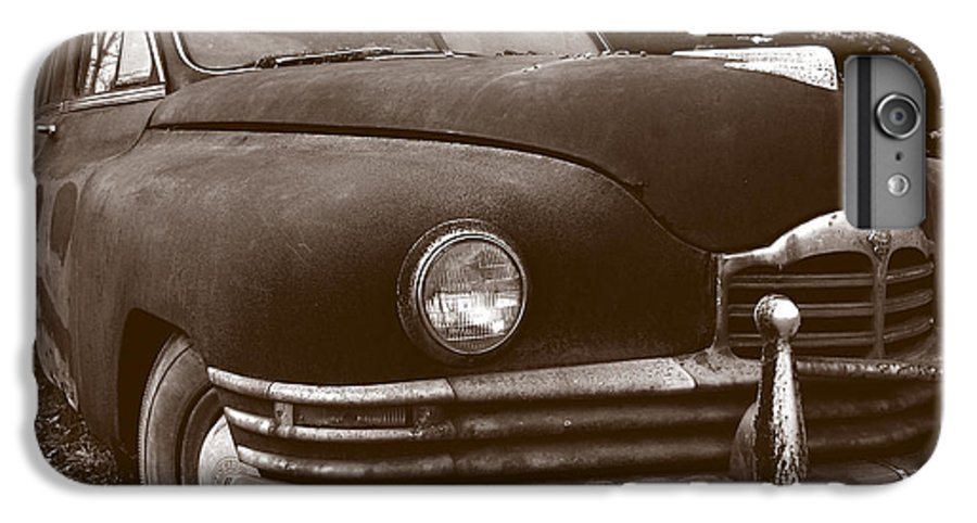 Old Car IPhone 6 Plus Case featuring the photograph Chocolate Moose by Jean Macaluso