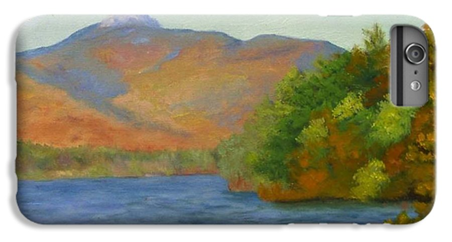 Mount Chocorua And Chocorua Lake IPhone 6 Plus Case featuring the painting Chocorua by Sharon E Allen
