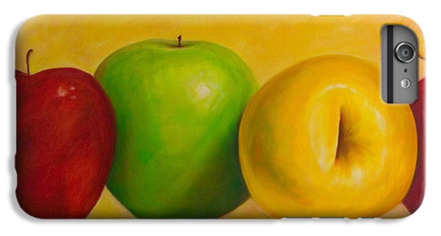 Still Life IPhone 6 Plus Case featuring the painting Chorus Line by Shannon Grissom