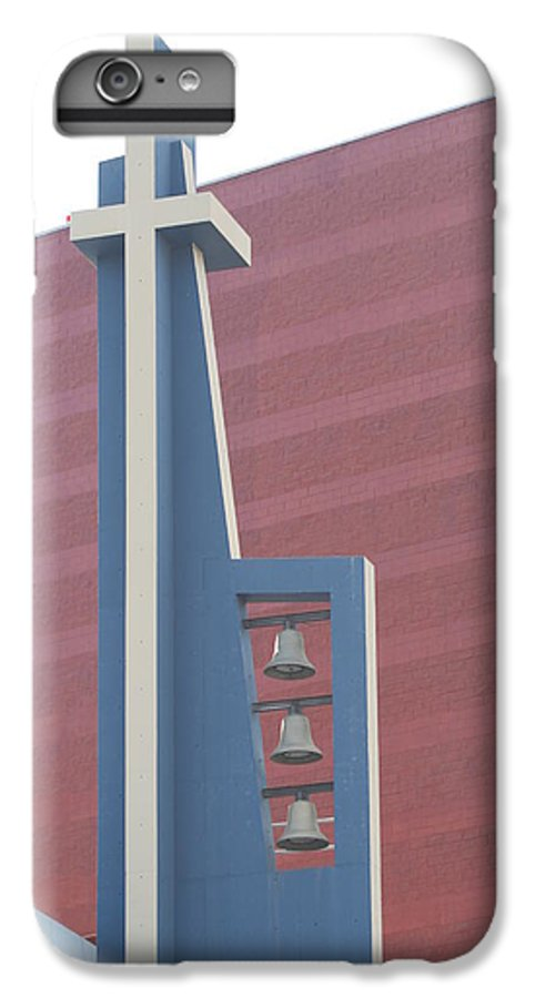 Bells IPhone 6 Plus Case featuring the photograph Church Bells by Rob Hans