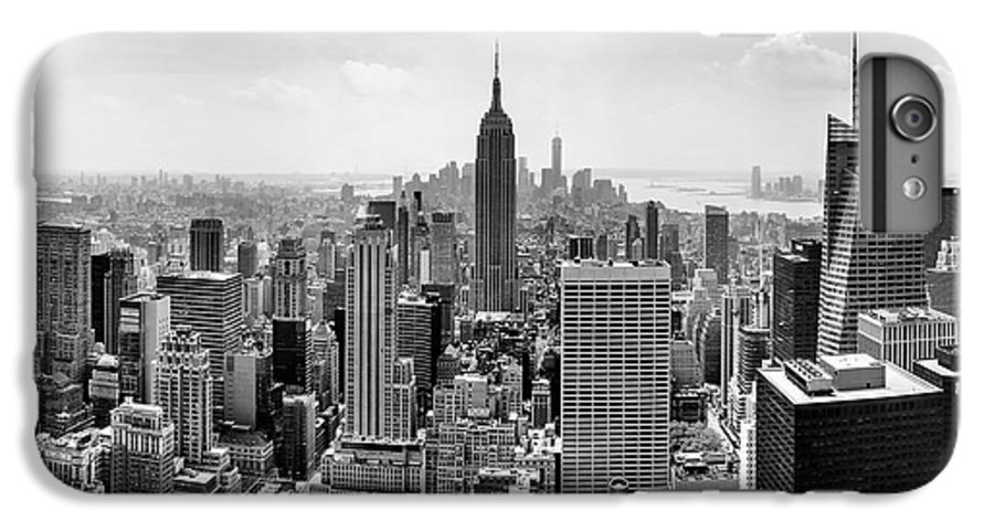 Empire State Building IPhone 6 Plus Case featuring the photograph Classic New York by Az Jackson