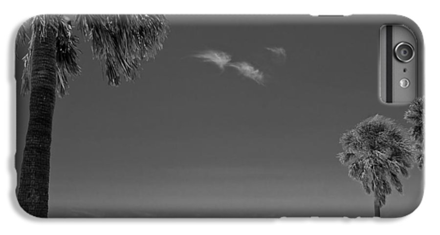 3scape IPhone 6 Plus Case featuring the photograph Clearwater Beach Bw by Adam Romanowicz