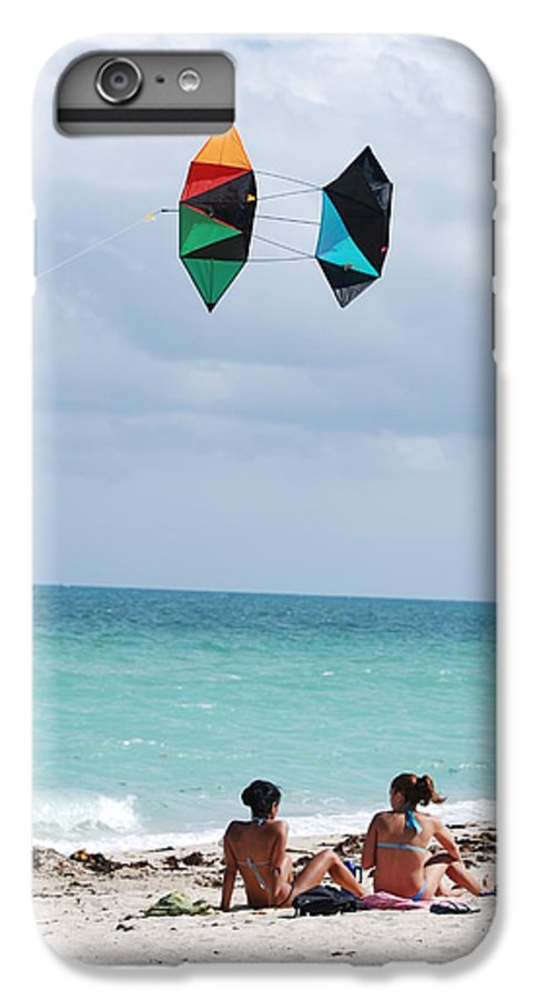 Sea Scape IPhone 6 Plus Case featuring the photograph Close Encounters by Rob Hans