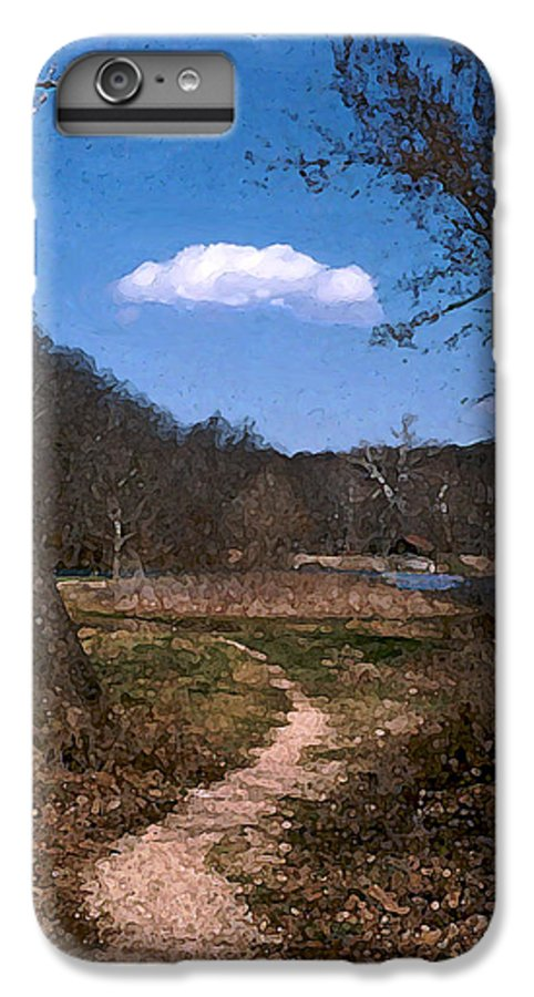 Landscape IPhone 6 Plus Case featuring the photograph Cloud Destination by Steve Karol